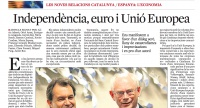 Independencia, euro y UE